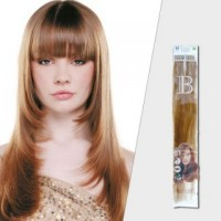 Balmain Prebonded Fill-in Extensions 40cm Straight 50 Pack Colour 1B