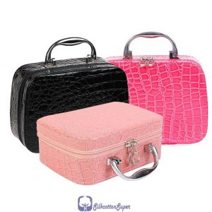 beauty make up nail tech cosmetic artist box jewellery vanity case storage bag salon.