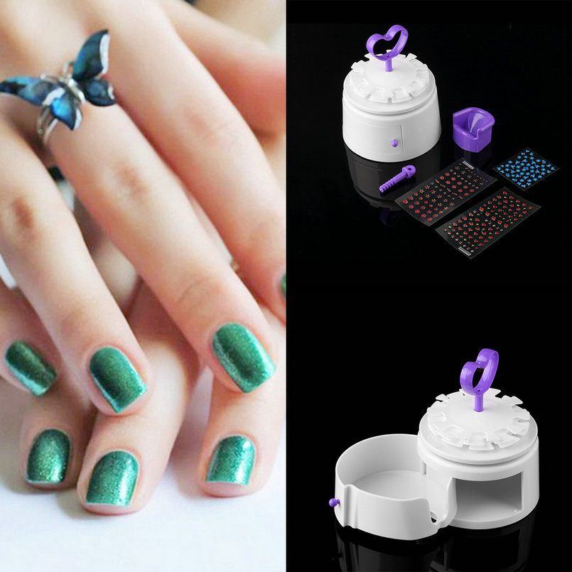 Nail Art Supply 1Pc Salon-Perfect Nail manicure Kit Design Nail Art ...