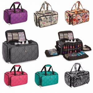professional large make up bag vanity case cosmetic nail tech storage beauty salon b.
